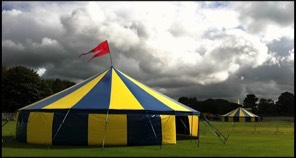 Two of our Big Tops for hire at a Music festival in Lancashire : circus tent for hire - memphite.com